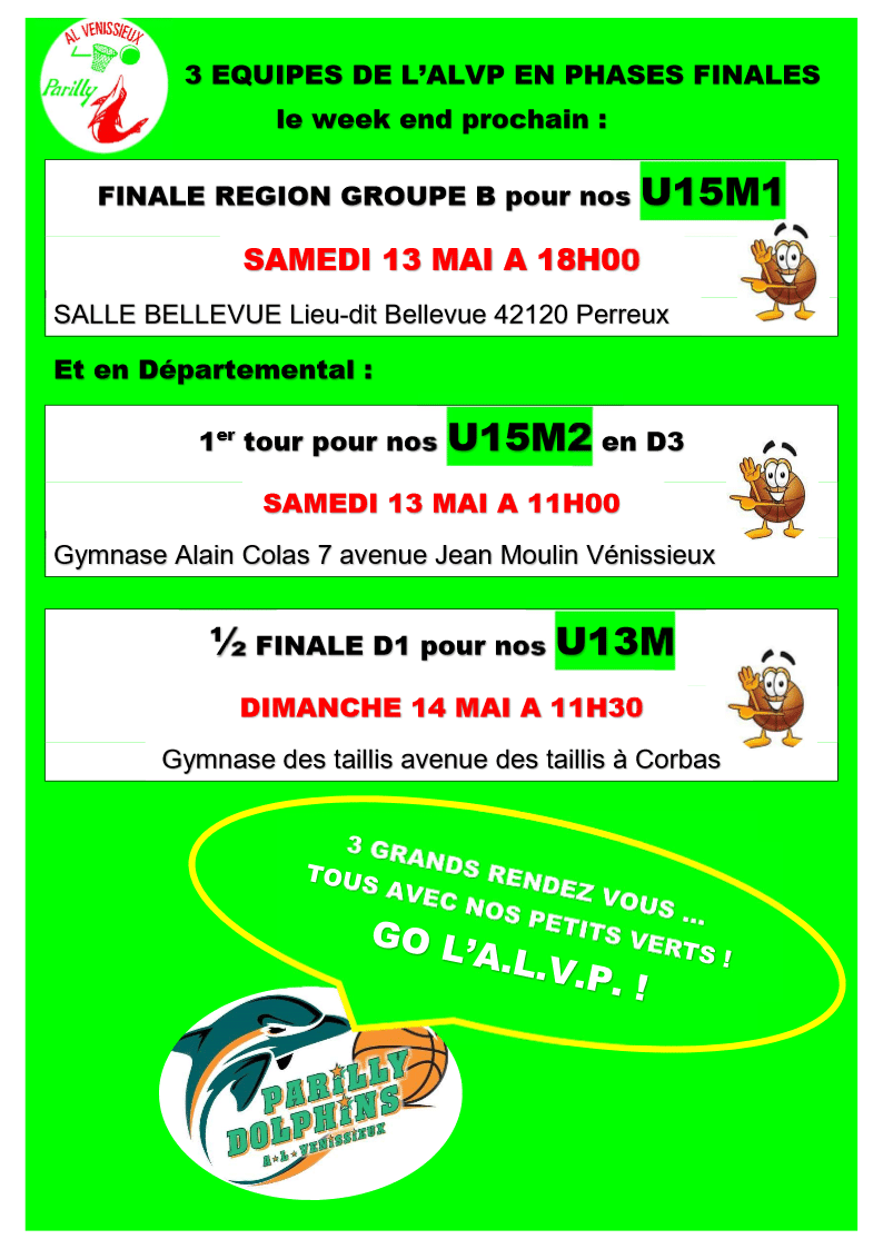 phases finales alvp
