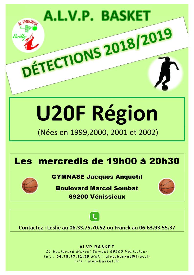 detections U20f