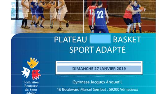 affiche sport adapté 2019