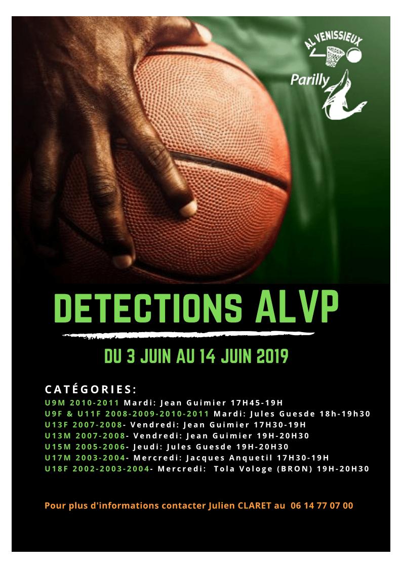 Detection ALVP