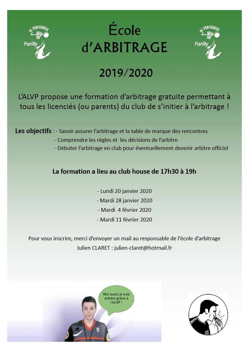 École Arbitrage 2019-2020 b