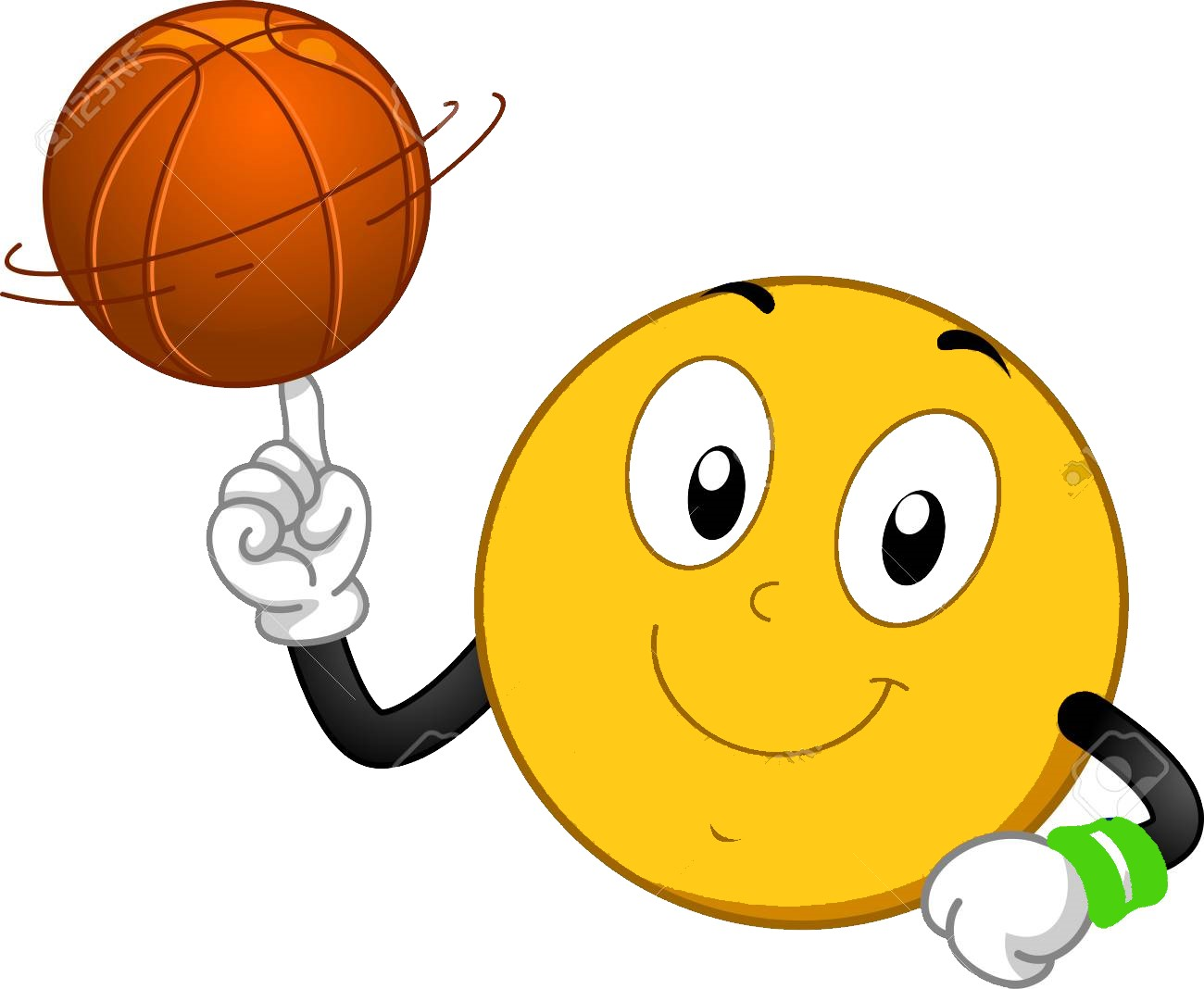 93288877-illustration-of-a-smiley-mascot-spinning-a-basketball-ball-on-its-finger