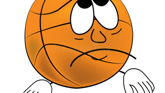 bande-dessinée-triste-de-boule-de-basket-ball-43150145