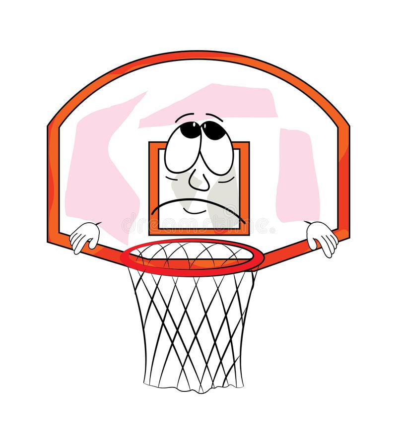 bande-dessinée-triste-de-cercle-de-basket-ball-49244165